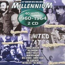 Millennium 1960-1964 (40 Hits) Wanda Jackson, Ricky Nelson, Del Shannon.. [2 CD]