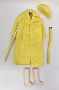 Vintage-Barbie-Stormy-Weather-Raincoat-Set-1963-1965-949-Mattel