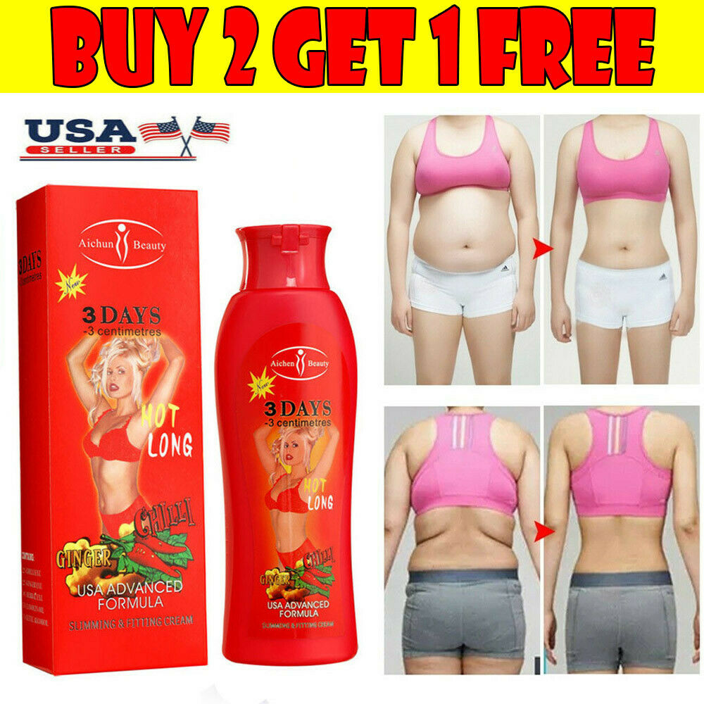 200ml Hot Chilli & Ginger Slimming Cream Fast Lose Weight Burn Fat