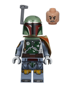 Clone Head Star Wars Minifigure Printed Arms Lego Boba Fett 75222 Pauldron