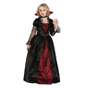 Halloween Costumes For Girls Scary.Details About New Vampire Princess Girls Scary Childrens Fancy Dress Halloween Costume