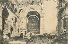 ITALIA Italy PARROCCHIA di Vallarsa church interior WW1 war ruins