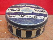 Jolie ancienne boîte, bassin de Vichy, Source Saint Ange, Hauterive