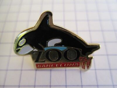 KILLER WHALE ORCA LAPEL PIN BADGE 1//2 INCH