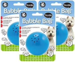 3-Pack-Pet-Qwerks-Talking-Babble-Ball-Medium-Blue