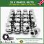 20 x Alloy Wheel Nuts OE Style M12x1.5 Bolt For Jaguar XF 2007-16