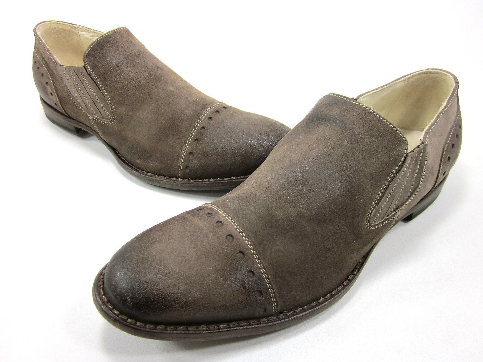 AREA FORTE, 5962, LEATHER DRESS SHOES, MENS, CORIUM 311, EURO 40, NEW W O BOX