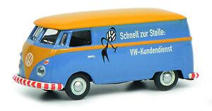 Schuco-1-87-452644600-VW-T1c-Kastenwagen-034-VW-Kundendienst-034-NEU-OVP