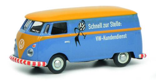 """Schuco 1:87 452644600 VW T1c Kastenwagen /""""VW Kundendienst/"""" NEU OVP"""