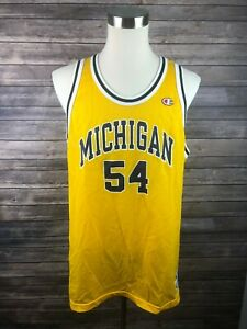 Vtg-University-of-Michigan-Champions-Mens-Basketball-Jersey-Size-48