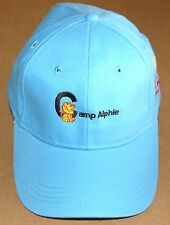 NEW Camp Alphie Children's Miracle Network Logo Baseball Cap Hat Carolina Blue