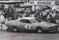 Richard Petty Hand Signed 12x8 Photo Daytona 500 Winner.
