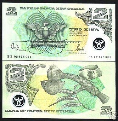 PAPUA NEW GUINEA 2 KINA POLYMER P 16 c UNC