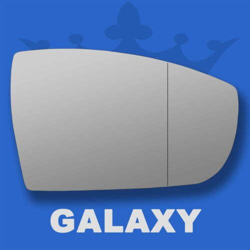 Ford Galaxy wing door mirror glass 2006-2010 Right Driver side with Blind Spot