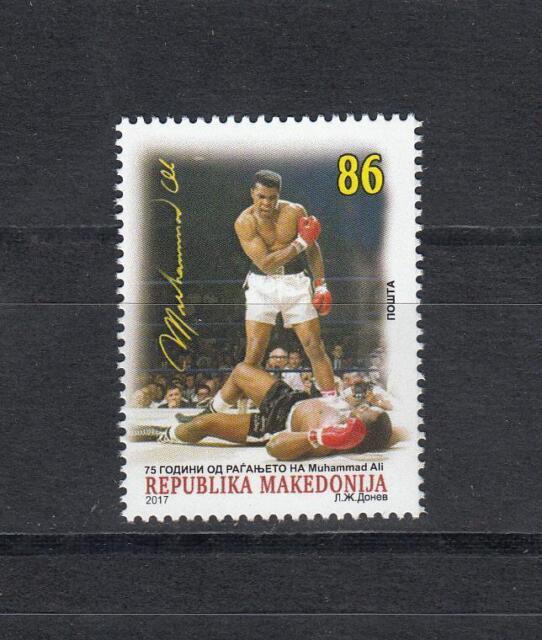 Boxen Macedonia Mazedonien 2017 Ma 762 Muhammed Ali 75th Birth Aniv.