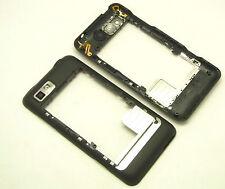 Original Motorola Motoluxe XT615 Mittelrahmen Middleframe Bezel Kameraglas Black