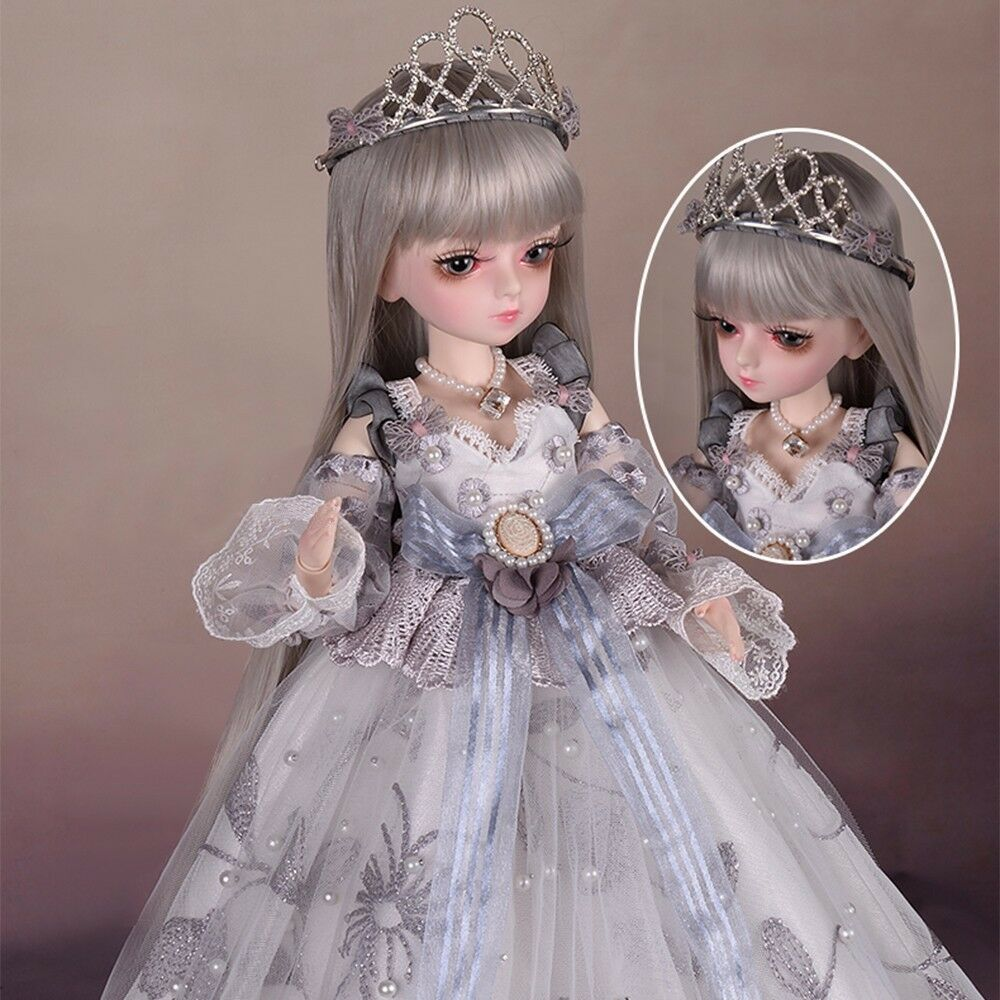 BJD Dolls 1/4 Fashion Flexible Resin Figure Female Fairies FULL SET Kids Toy