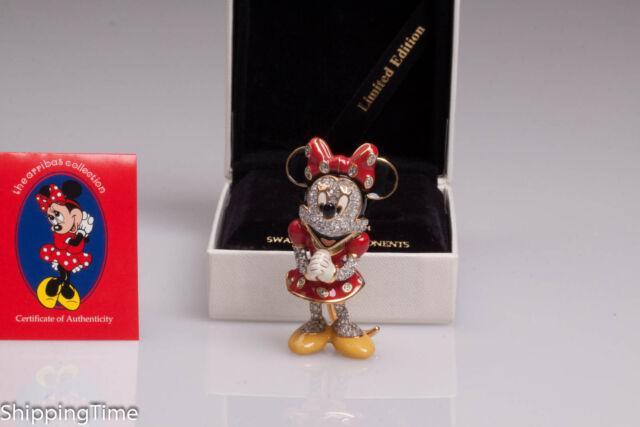 Swarovski figurine Disney Arribas Minnie Mouse Limited Edition ABMMNR2