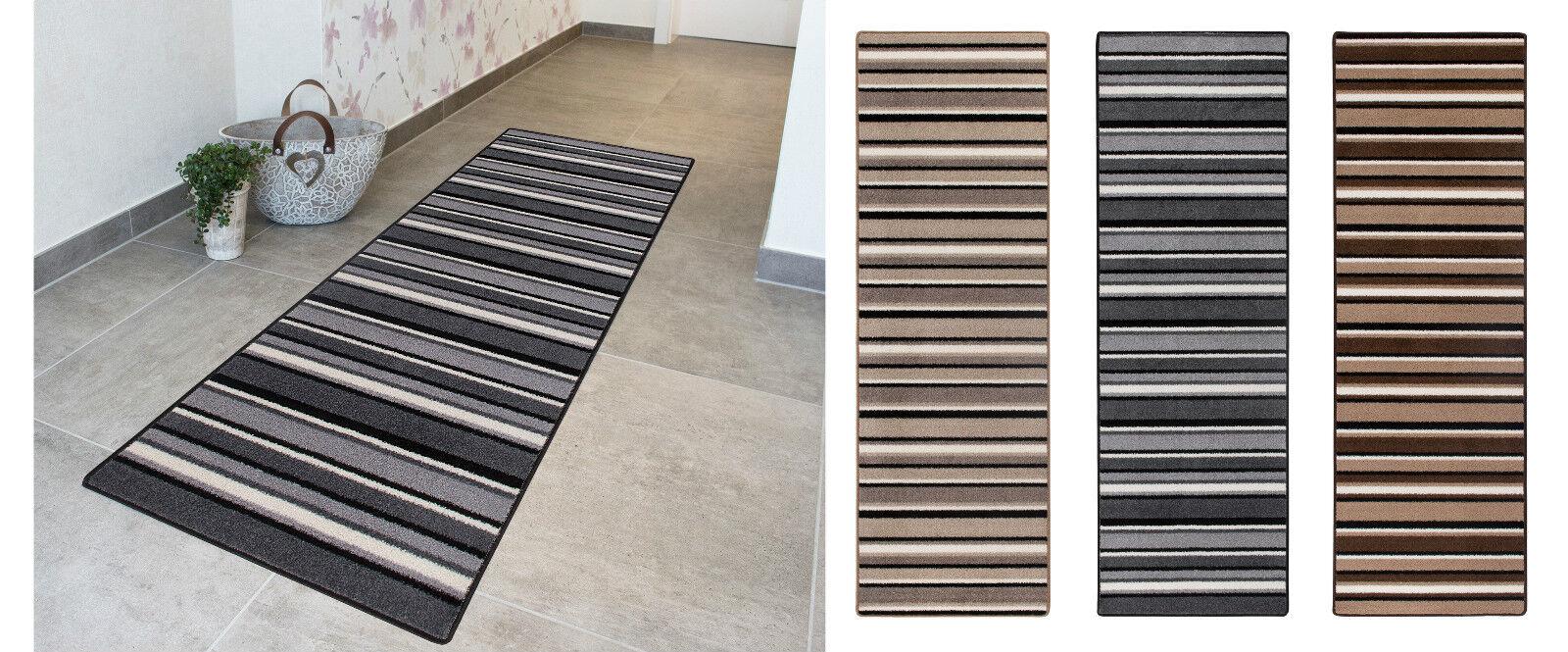 Läufer Brücke Küchenläufer Teppich Läufer Beige Braun, Schwarz Weiß,  Beige Grau