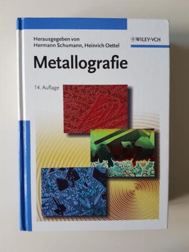 1 von 1 - Metallografie (2007, Gebundene Ausgabe)