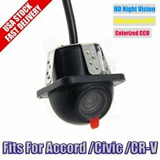 For Accord/Civic/CR-V Car Reverse Backup CCD HD Rear View Camera HD Night Vision