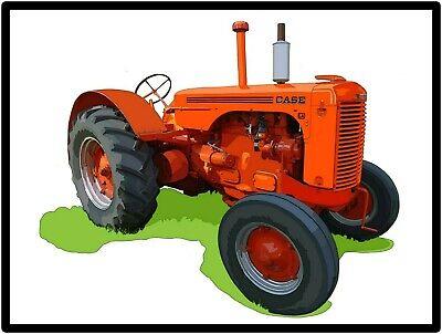 Model LA Featured Case Tractors New Metal Sign