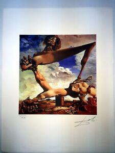 Salvador-Dali-cm-50x65-carta-BFK-RIVES-firmato-a-matita-edizione-Joplin-France