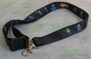 NITF-Rare-1st-Fallout-New-Vegas-Lanyard-Vault-Boy-GameStop-Promo