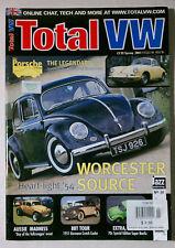 TOTAL VW 2001 SPRING VOLKSWAGEN MAGAZINE BUG BUS KARMANN GTI SCIROCCO BEETLE