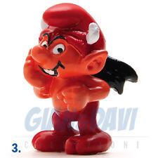 PUFFO PUFFI SMURF SMURFS SCHTROUMPF 2.0213 20213 Devil Smurf Puffo Diavolo 3A