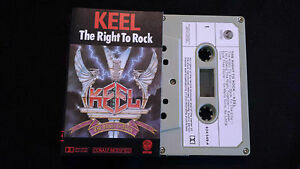 KEEL-034-THE-RIGHT-TO-ROCK-034-CASSETTE-TAPE-Produced-By-GENE-SIMMONS