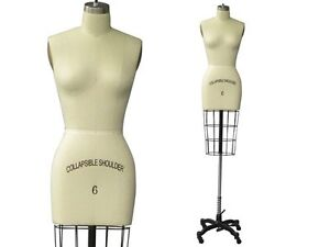 Professional Female half body dress form sewing draping Mannequin ...