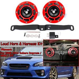 Super-Loud-Bracket-amp-Dual-Supertone-Horns-For-2008-14-Subaru-Impreza-WRX