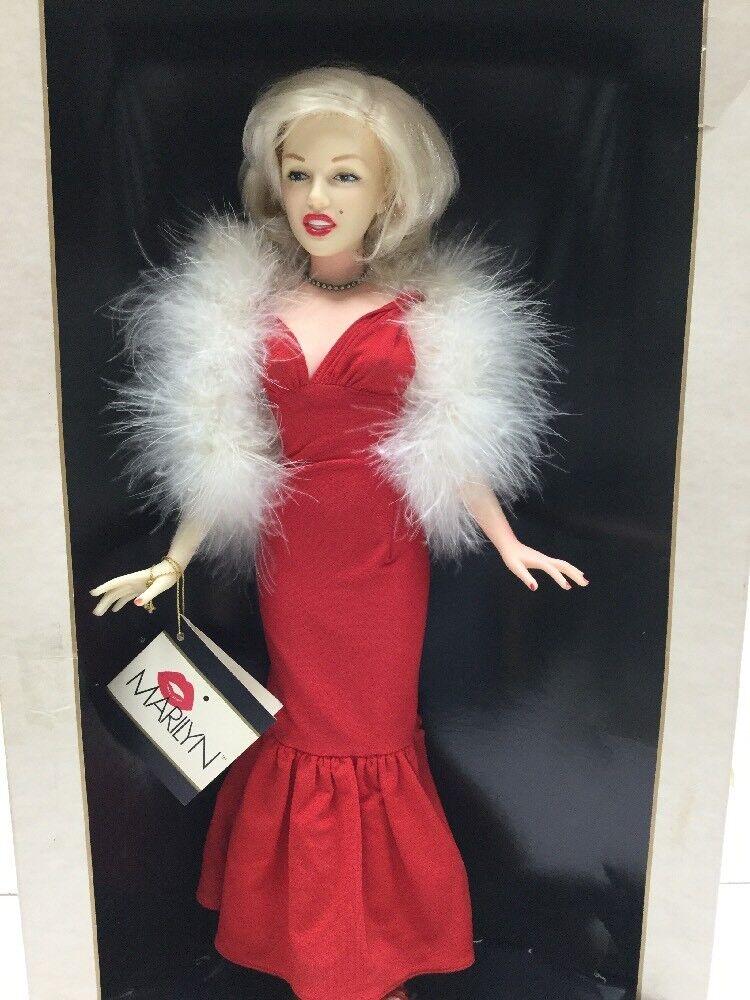 604ms   Marilyn   a World Bambola Nell'Celebrità Scatola Serie in Scatola Nell'Celebrità con Coa e Tag bd9be7