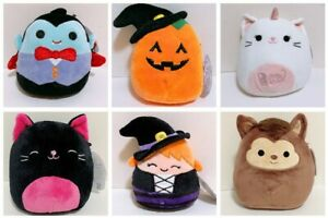 Pick-Any-2-Kellytoy-Squishmallows-2020-Halloween-Collection-5-034-Mini-Plush-Doll