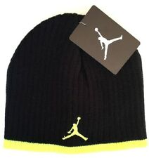 8//20 Nike Air Jordan Jumpman Youth Black//Volt Knit Skull Cap