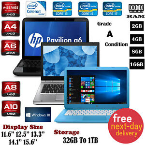 Cheap-HP-Stream-Pavilion-15-6-034-Laptop-Intel-i3-i5-i7-8GB-RAM-1TB-Win-10-A-Grade