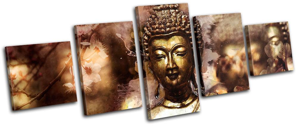 Buddha Digi-Painting  Landmarks MULTI TELA TELA TELA parete arte foto stampa e1f33b