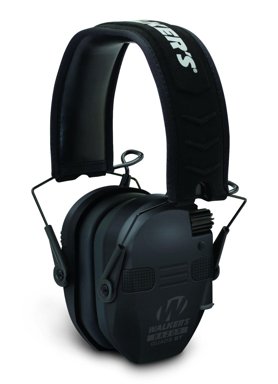 Walkers WGE-GWP-RSEQM-BT Razor Quad Blautooth Muff, Ultra Niedrig Profile Ear Cups