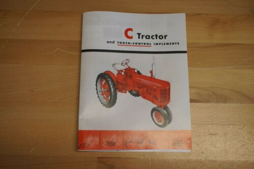 International Harvester McCormick Farmall C Tractor Dealer Sales Color Brochure