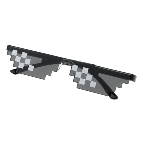 Novelty Funny Party Sunglasses Eye Glasses Mosaic Photo Props for Adult Kids