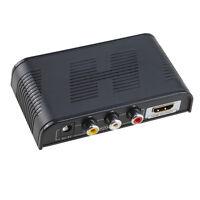Composite Av Cvbs 3rca Video Audio To Hdmi Converter Box Hd 720p 1080p Upscaler