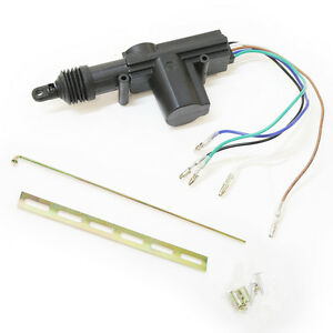 Image is loading 5-Wire-Master-Door-Motor-Solenoid-Central-Locking-  sc 1 st  eBay & 5 Wire Master Door Motor Solenoid Central Locking Universal | eBay