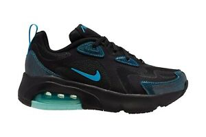 Nike-Air-Max-200-Dragon-UK-Size-5-Women-039-s-Trainers-Black-Blue-Shoes