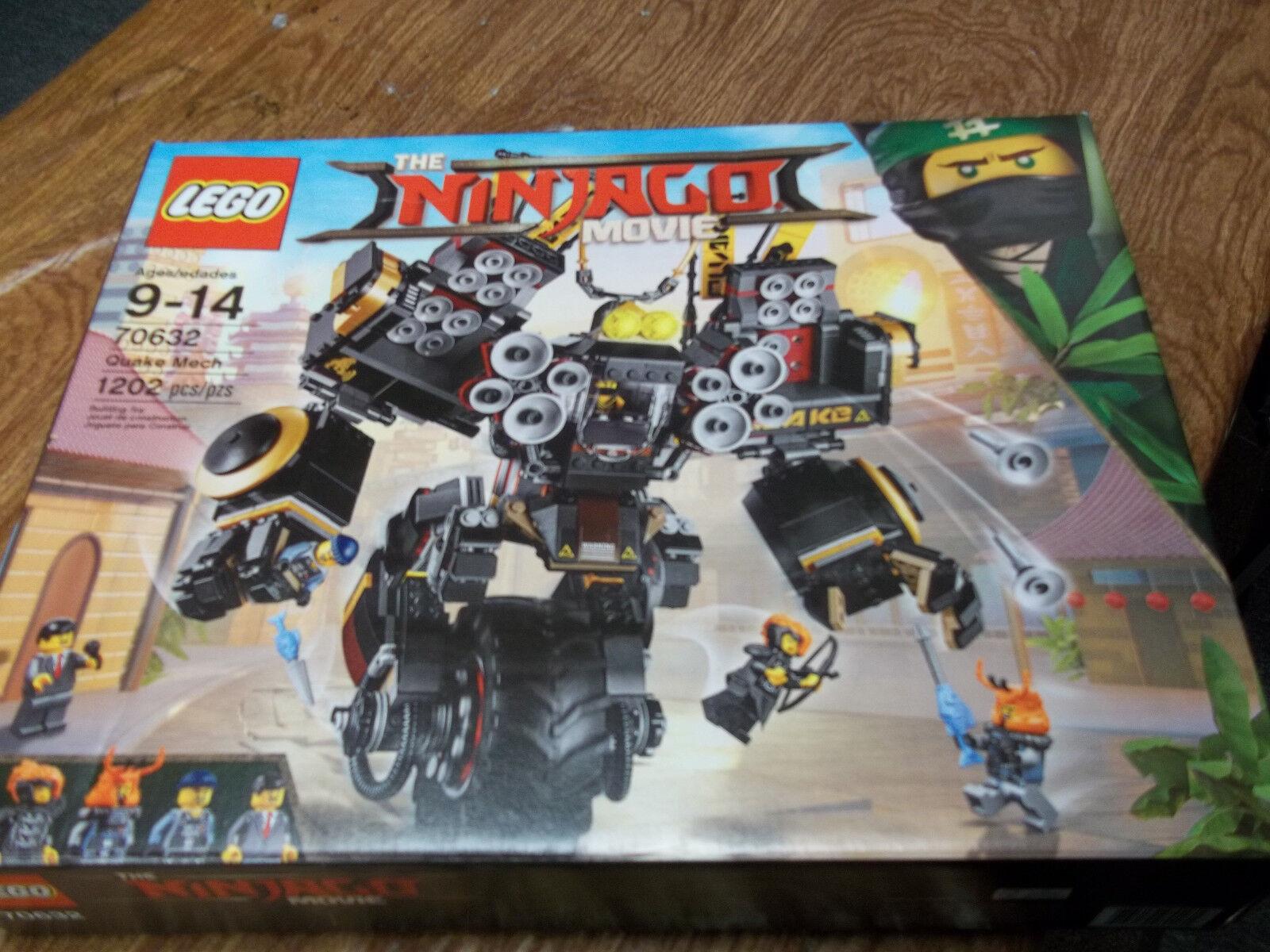 Lego The Ninjago Movie Quake Mech 70632 1202 PCS  NEW