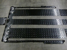 Gummi Fußmatte für Mercedes W639 Viano + Fahrgastraum + PASSGENAUE Gummimatte
