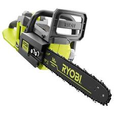 """Ryobi 14"""" 40-Volt Lithium-Ion Battery Power Electric Cordless Chainsaw Brushless"""