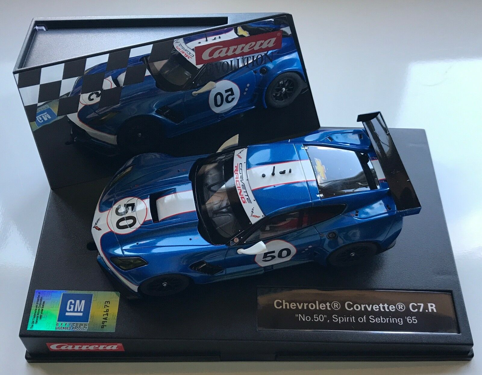 Carrera Evolution CA27513 Chevrolet Corvette C7.R  No.50  Spirit of Sebring NIB