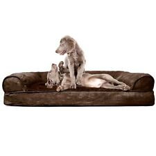 Dog Beds Extra Large Washable Removable Cover Fancy Therapeutic Big Bolster XL