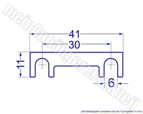 Kfz-Sicherungen Streifensicherungen Blattsicherungen 60A 60 Ampere />/> U /</<